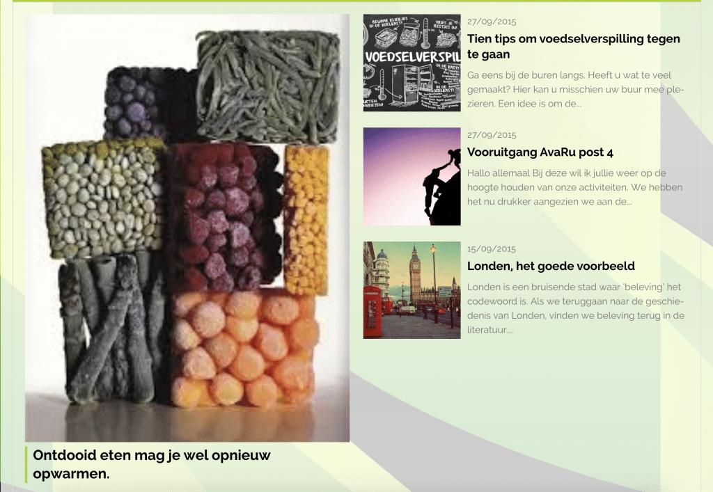 AvaRu voedselverspilling verminderen