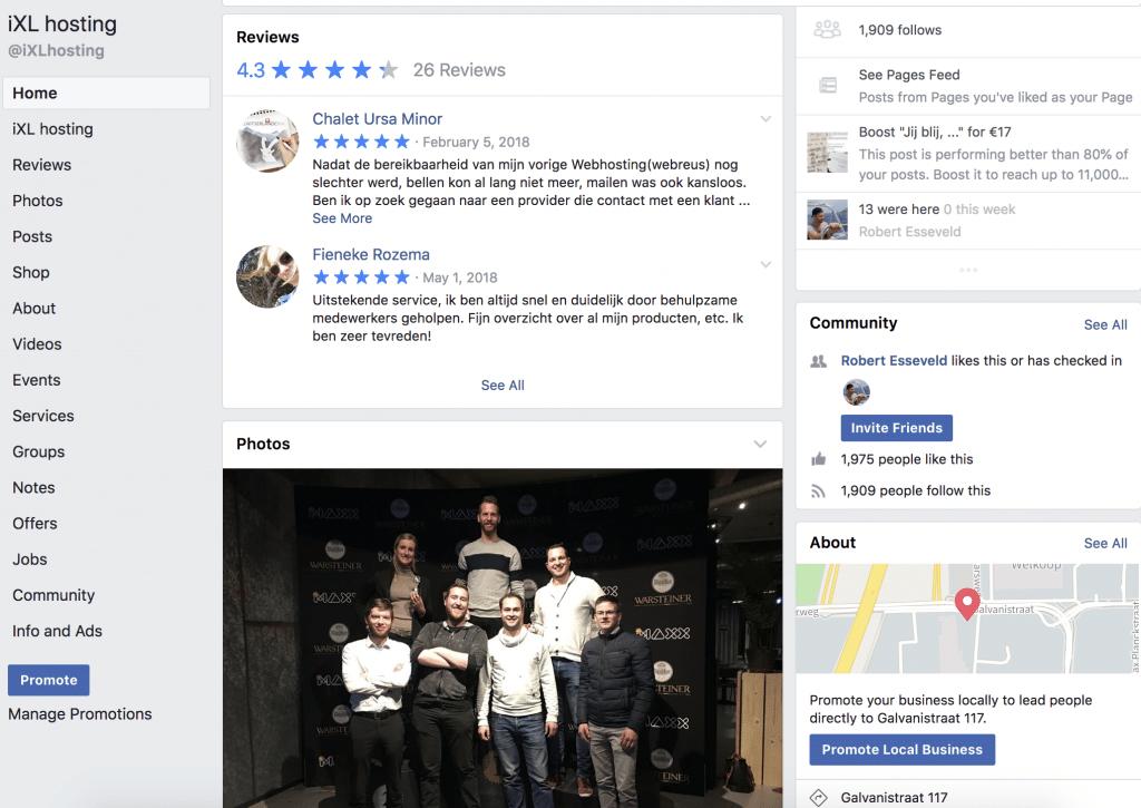 iXL-Hosting-Facebook