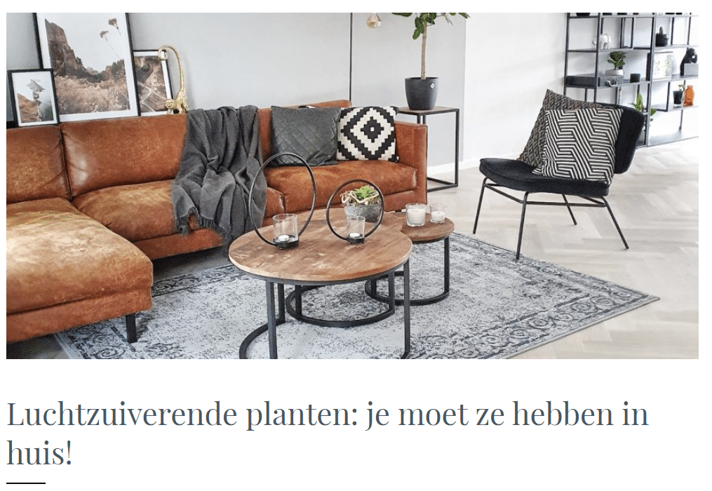Homefreak.nl influencer marketing